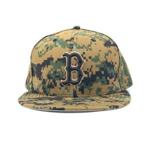 BOSTON RED SOX NEW ERA DIGITAL CAMO 59FIFTY HAT